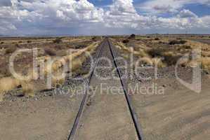 Eisenbahnlinie nach Walvisbay, Namibia