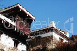 Tibetan buildings