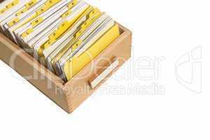 Sortierte Unterlagen