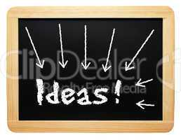 Ideas ! - Business and Innovation Concept