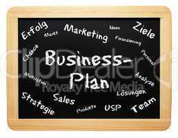 Business Plan - Konzept Tafel - freigestellt