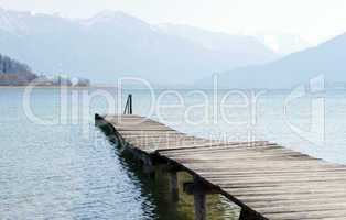 Holzsteg am See - At the Lake