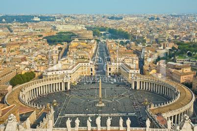 Saint Peter Square, Vatican