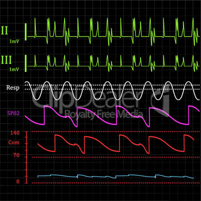 Physiologic monitor background.eps