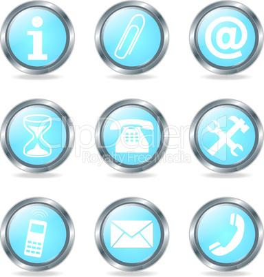 Set Service Buttons