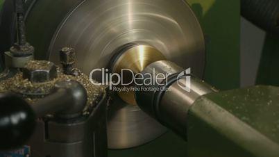 HD1080p25 CNC Machine work with metal