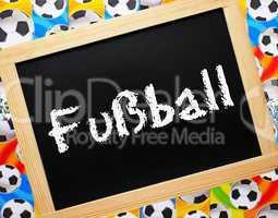 fußball - konzept bild