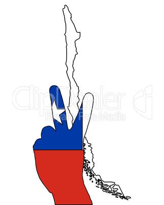Chile Handzeichen