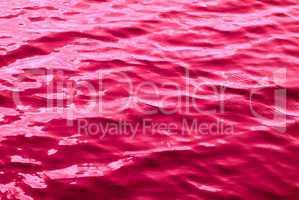 red liquid texture