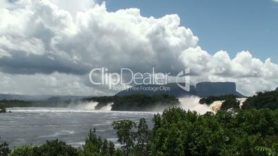 Waterfall in Canima NP