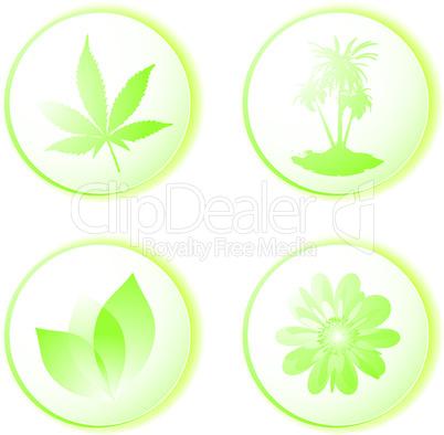 eco icon leaf