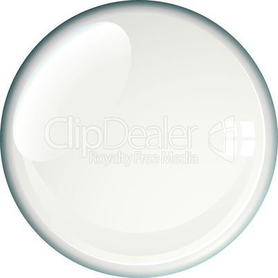 badge blank bubble