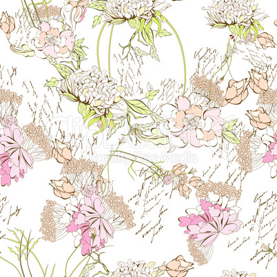 Spring seamless wallpaper