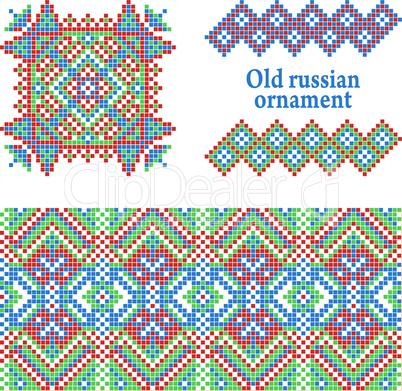 Russian pattern.