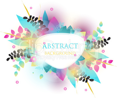 Colorful vector background  with place for your text