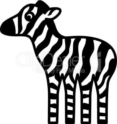 Comic-Zebrababy