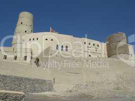 Festung Hisn Tamah von Bahla