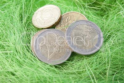 Geldgeschenk Zu Ostern Euro Lizenzfreie Bilder Und Fotos