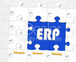 ERP - Enterprise Resource Planning - Concept
