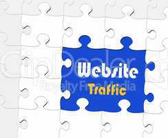 Website Traffic - eBusiness Concept