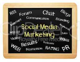 Social Media Marketing - Business Concept