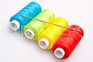 colored thread for sewing with needle