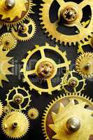 mechanism from old gears