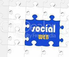 Social Web - Business Concept