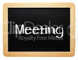 Meeting - Business Konzept Tafel