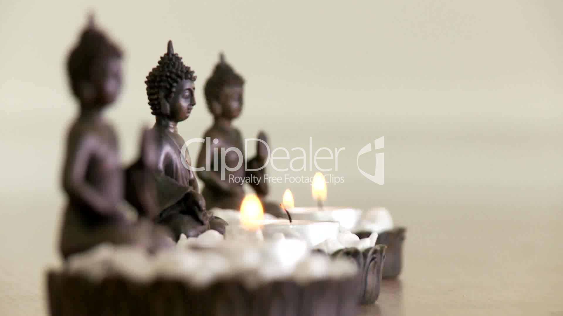 buddha figuren royalty free video and stock footage. Black Bedroom Furniture Sets. Home Design Ideas