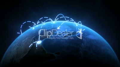 Growing Global Network Realistic