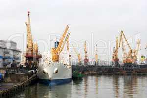 Sea Port of Odessa, Ukraine