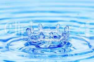 splash water