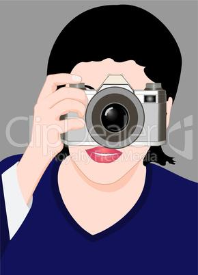 Lady photograph