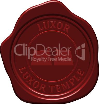 luxor temple sealing wax
