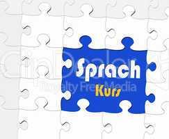 Sprachkurs - Konzept Bildung