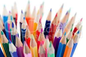 Plenty of color pencils