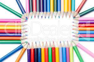 Color pencils rectangle