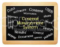 Content Management System - Business Konzept