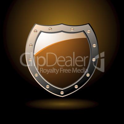 Secure shield blank