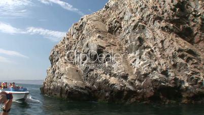 Boot, Islas Ballestas, Peru
