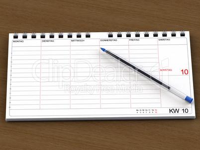 Termin Kalendar Vorlage