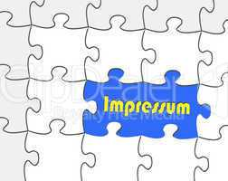 Impressum - Konzept Recht
