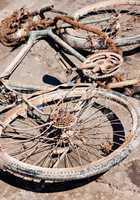 Abandoned Rusty Bike