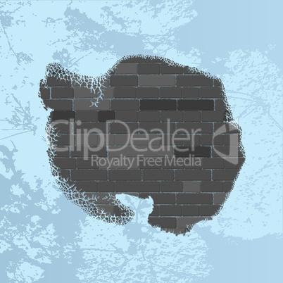 Antarctica wall map.eps