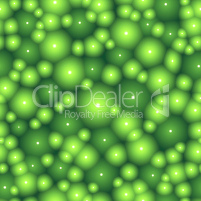 Green cell seamless vector background.