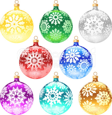 Christmas-tree decorations.