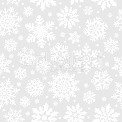 Snowflakes seamless background.