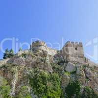 Castle in Salobrena Andalusia Spain - Burg in Salobrena Andalusien Spanien