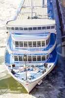 passenger ship at the pier